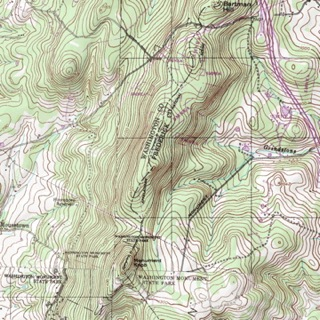 topography map appalachian trail