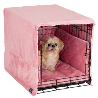 padded dog crate